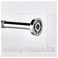 ХОРНЕН Штанга для шторы в ванную, 70-120 см, фото 3