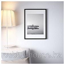 РИББА Рама, черный, 50x70 см, фото 3