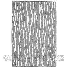 ГЛУМСЁ Ковер безворсовый, светло-серый, 133x195 см, фото 2