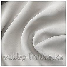 МАЙГУЛЛ Затемняющие гардины, 1 пара, светло-серый, 145x300 см, фото 2