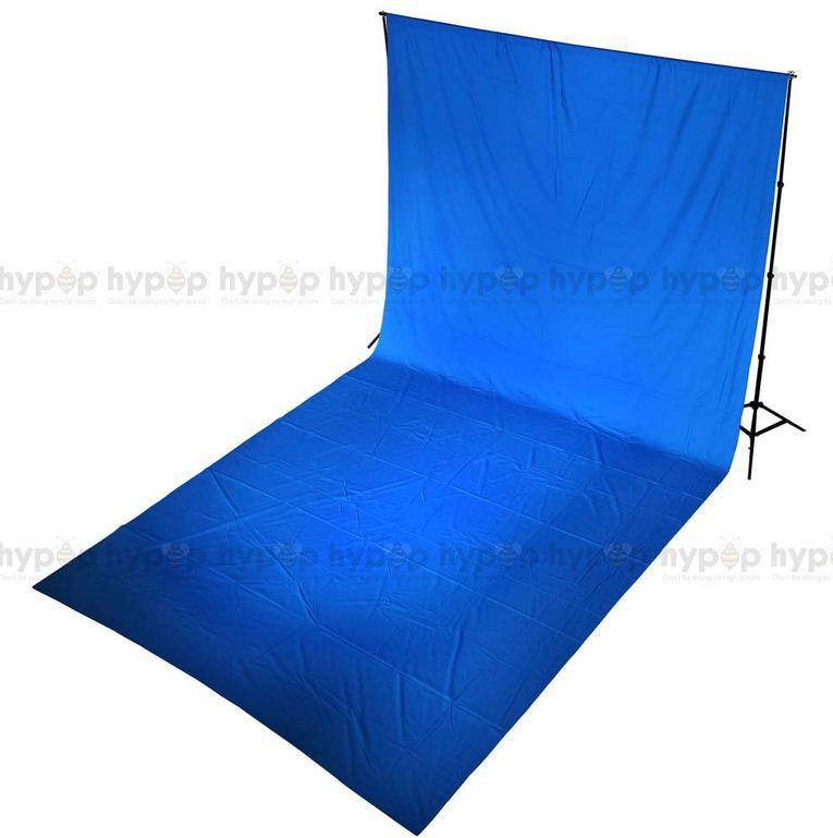 Студийный тканевый синий фон 6 м × 2,3 м