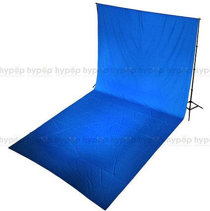 Студийный тканевый синий фон 6 м × 2,3 м, фото 2