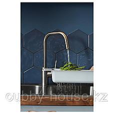ЭЛМАРЕН Смеситель кухонный, цвет нержавеющей стали, фото 2
