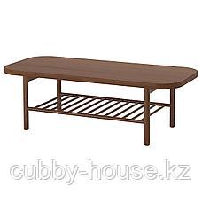 ЛИСТЕРБИ Журнальный стол, коричневый, 140x60 см, фото 2