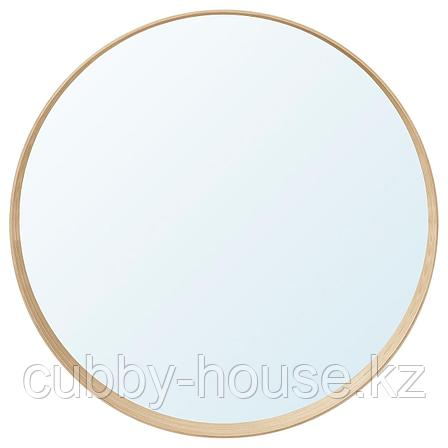 СТОКГОЛЬМ Зеркало, шпон грецкого ореха, 80 см, фото 2