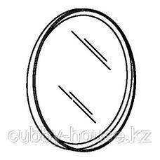 СТОКГОЛЬМ Зеркало, шпон грецкого ореха, 80 см, фото 3