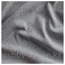 ЛЕНДА Гардины с прихватом, 1 пара, серый, 140x300 см, фото 3