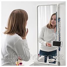 МЁЙЛИГХЕТ Зеркало, белый, 34x81 см, фото 3