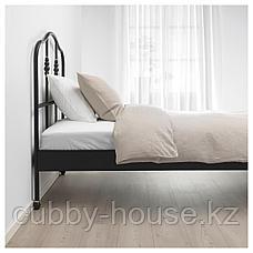 САГСТУА Каркас кровати, черный, Лонсет, 90x200 см, фото 3