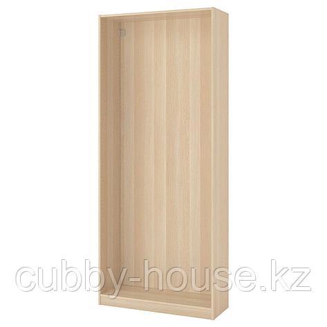 ПАКС Каркас гардероба, белый, 100x35x236 см, фото 2