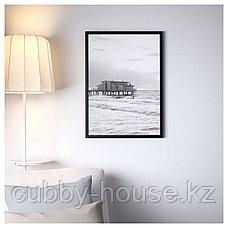 ФИСКБУ Рама, черный, 50x70 см, фото 3