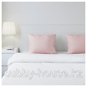 ДВАЛА Наволочка, светло-розовый, 50x70 см, фото 2