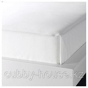 ДВАЛА Простыня, белый, 240x260 см, фото 2