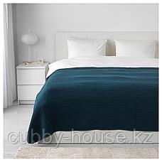 ВОРЕЛЬД Покрывало, темно-синий, 230x250 см, фото 2