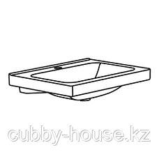 ОДЕНСВИК Одинарная раковина, 43x49x6 см, фото 3