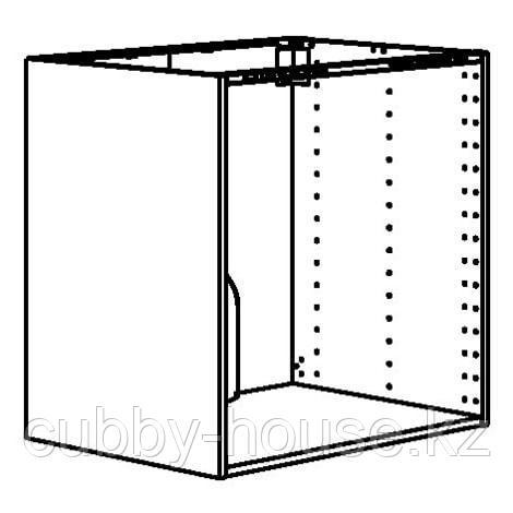 МЕТОД Напольный шкаф д/встр духовки/мойки, белый, 80x60x80 см - фото 3