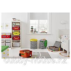 ФЛЮТТБАР Ящик кроватный, темно-серый, 58x58x15 см, фото 3