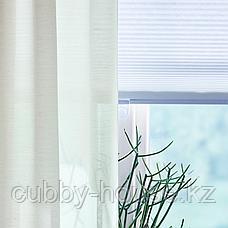 ХИЛЬЯ Гардины, 1 пара, белый, 145x300 см, фото 3
