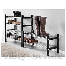 ЧУСИГ Полка для обуви, черный, 79 см, фото 3