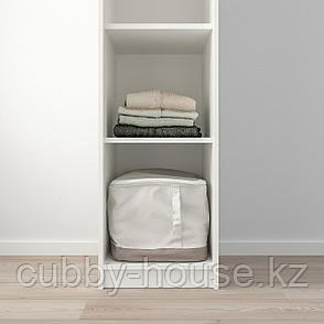 КЛЕППСТАД Открытый гардероб, белый, 39x176 см, фото 2