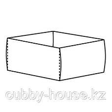 КОМПЛИМЕНТ Коробка, светло-серый, 25x27x12 см, фото 3