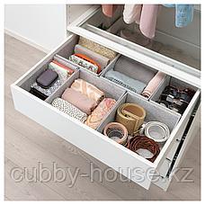 КОМПЛИМЕНТ Коробка, светло-серый, 25x27x12 см, фото 2