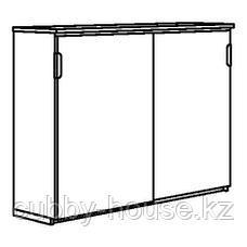 ГАЛАНТ Шкаф с раздвижными дверцами, белый, 160x120 см, фото 3