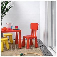 МАММУТ Детский стул, д/дома/улицы, красный, фото 2