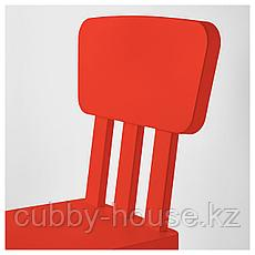 МАММУТ Детский стул, д/дома/улицы, красный, фото 3