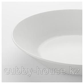 ОФТАСТ Тарелка глубокая, белый, 20 см, фото 2
