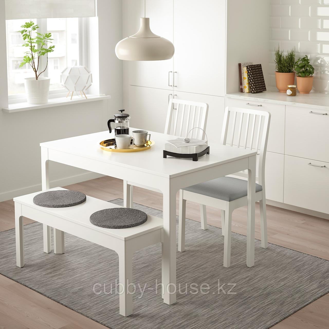БЕРТИЛЬ Подушка на стул, серый, 33 см - фото 3