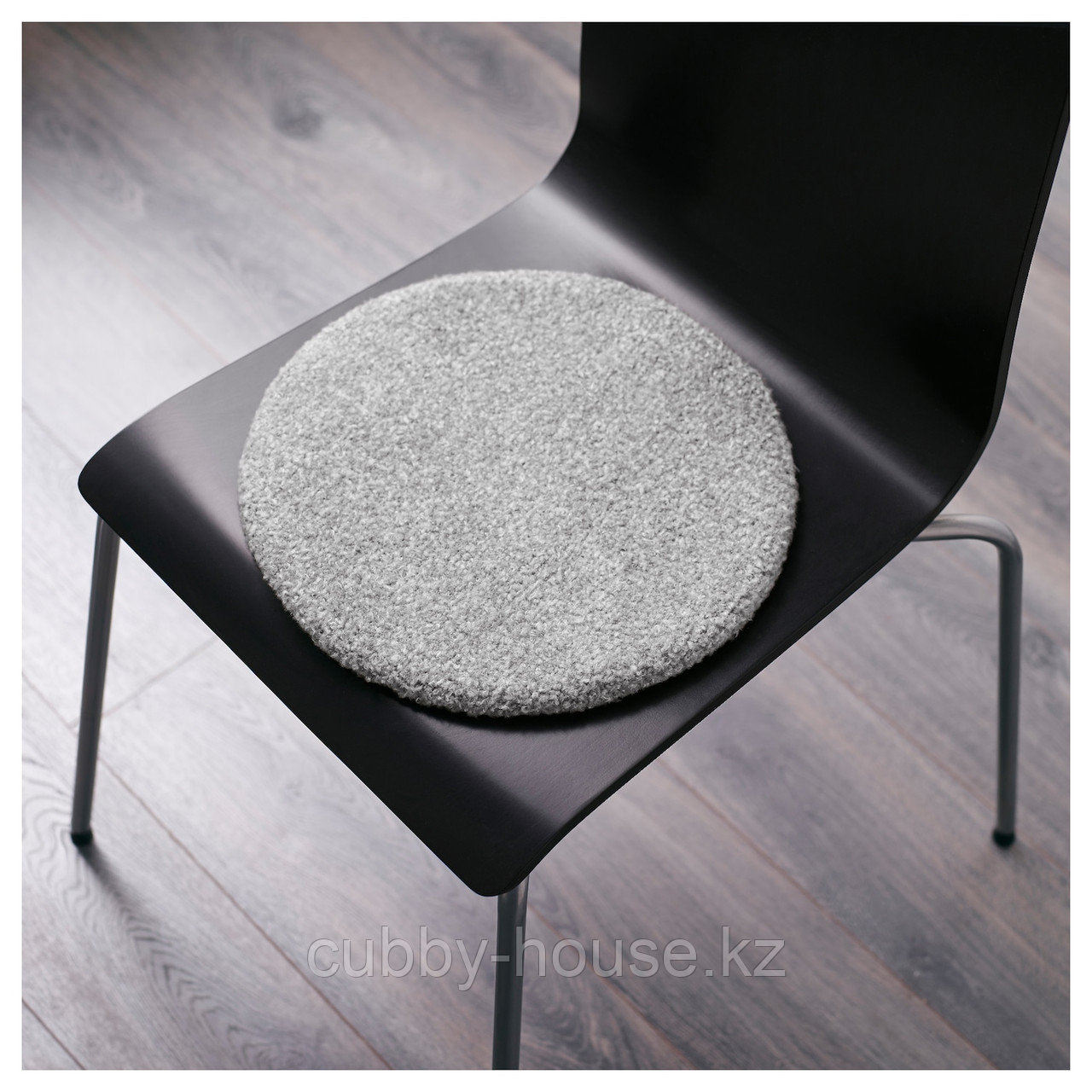 БЕРТИЛЬ Подушка на стул, серый, 33 см - фото 4