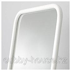 КНАППЕР Зеркало напольное, белый, 48x160 см, фото 3
