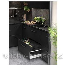 БОСШЁН Смеситель кухонный, цвет нержавеющей стали, фото 3