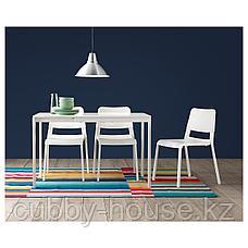 ВАНГСТА Раздвижной стол, белый, 120/180x75 см, фото 3