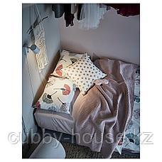 ВОРЕЛЬД Покрывало, светло-розовый, 230x250 см, фото 3