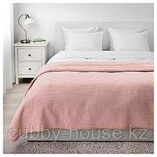 ВОРЕЛЬД Покрывало, светло-розовый, 230x250 см, фото 2