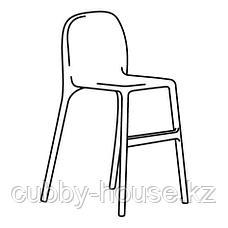 УРБАН Детский стул, белый, фото 2