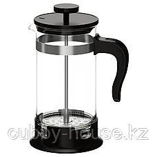 УПХЕТТА Кофе-пресс/заварочный чайник, стекло, нержавеющ сталь, 1 л, фото 2