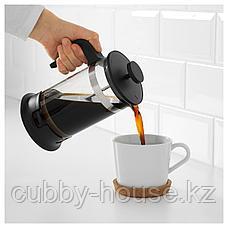 УПХЕТТА Кофе-пресс/заварочный чайник, стекло, нержавеющ сталь, 1 л, фото 3