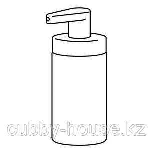 ТАККАН Дозатор для жидкого мыла, белый, фото 2