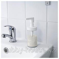 ТАККАН Дозатор для жидкого мыла, белый, фото 3