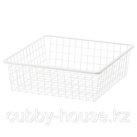 ЙОНАКСЕЛЬ Проволочная корзина, белый, 25x51x15 см, фото 2