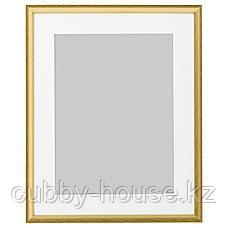 СИЛВЕРХОЙДЕН Рама, золотой, 40x50 см, фото 2