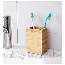 ДРАГАН Держатель д/зубных щеток, бамбук, фото 3