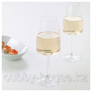 ДЮГРИП Бокал для белого вина, прозрачное стекло, 42 сл, фото 2