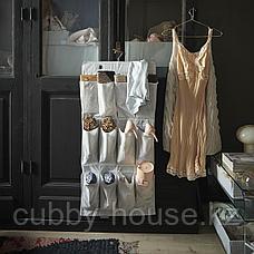 СТУК Подвесной модуль д/обуви/16карманов, белый/серый, 51x140 см, фото 2