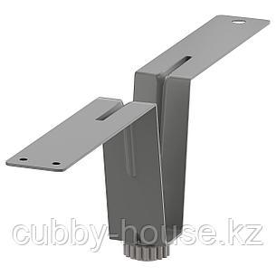 БЕСТО Ножка-подпорка, серый, 10 см, фото 2