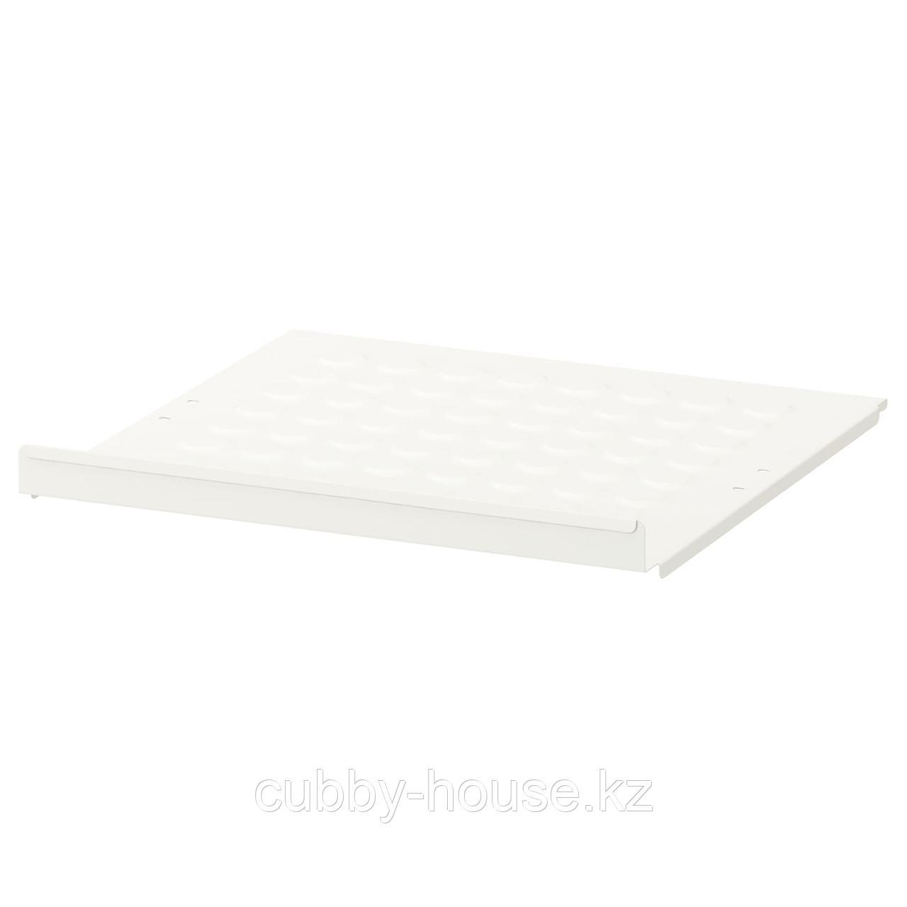 ЭЛВАРЛИ Полка для обуви, белый, 80x36 см