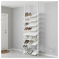 ЭЛВАРЛИ Полка для обуви, белый, 80x36 см, фото 2
